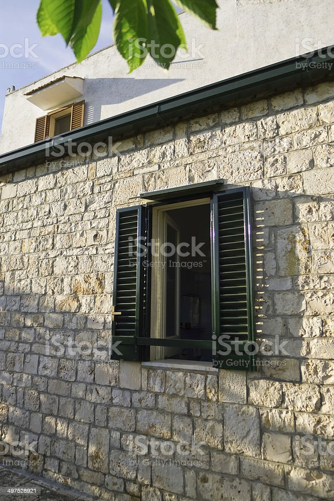 Country house. stock photo