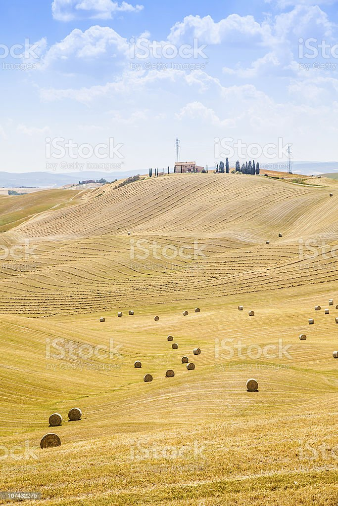 Country in Tuscany stock photo