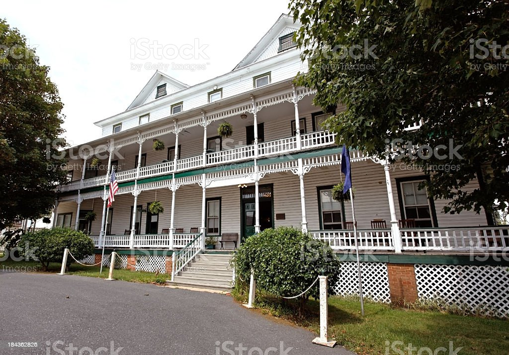 Country Inn royalty-free stock photo