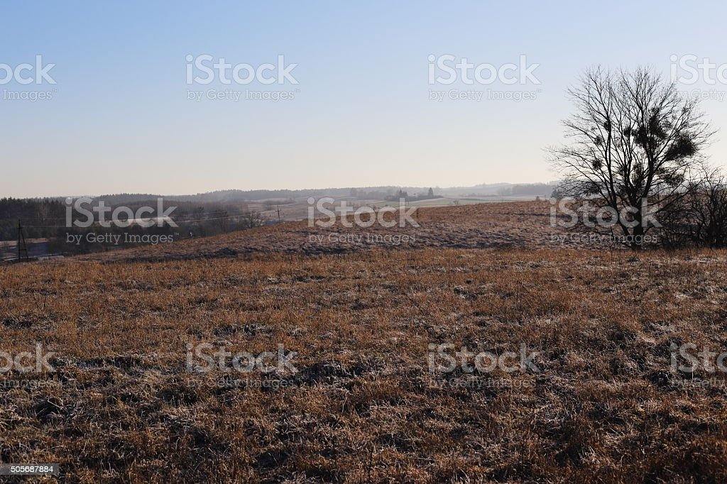 country landscape from Poland royalty-free stock photo