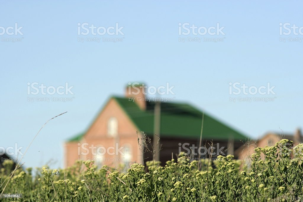 Country landscape. royalty-free stock photo