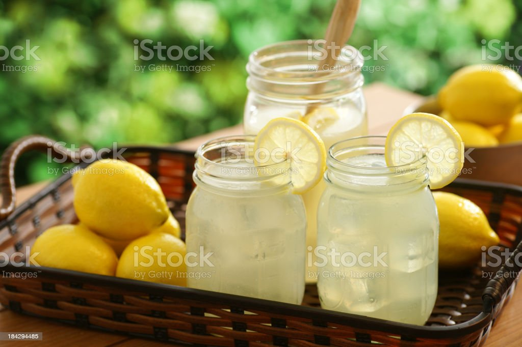 Country Lemonade stock photo