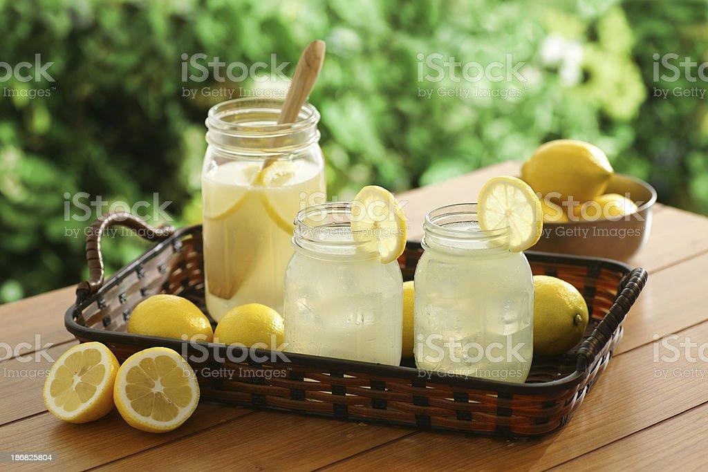 Country Lemonade stock photo