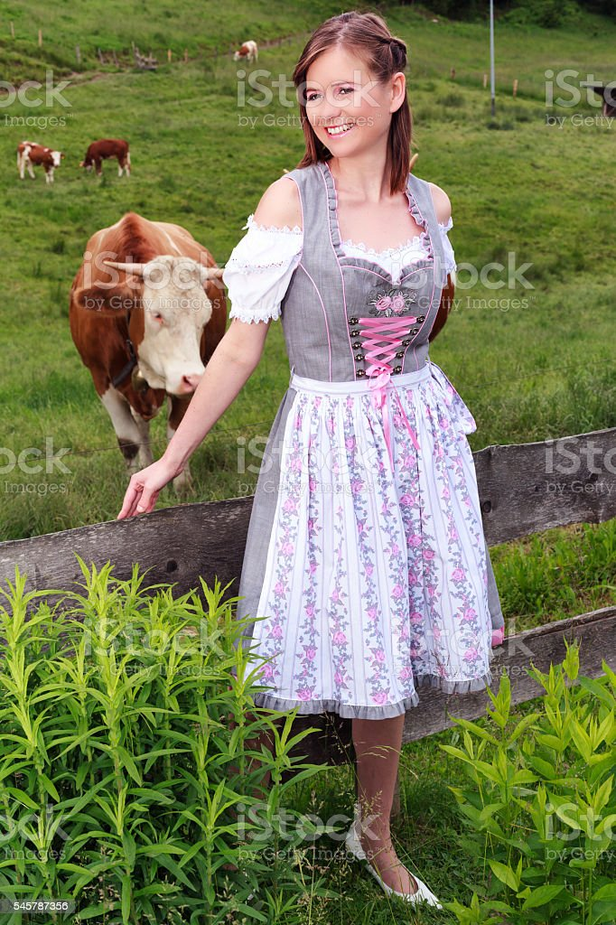 Country life is fun stock photo