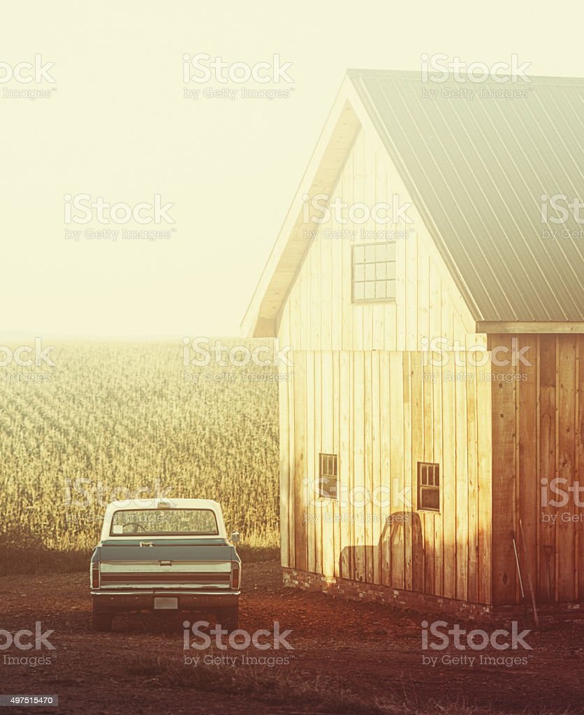 Country Life stock photo