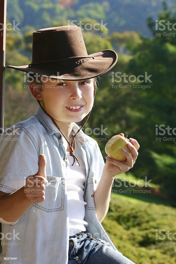 Country living, the good life royalty-free stock photo