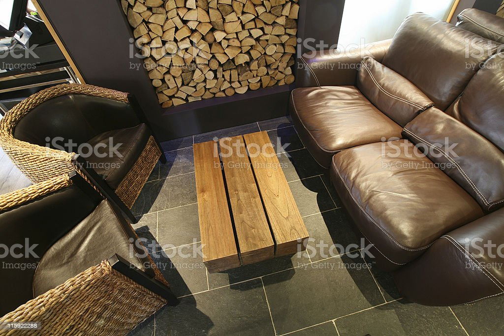 Country Lounge royalty-free stock photo