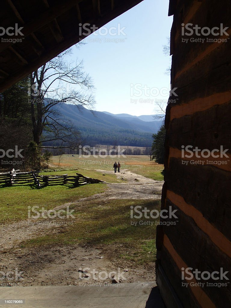 Country Love royalty-free stock photo