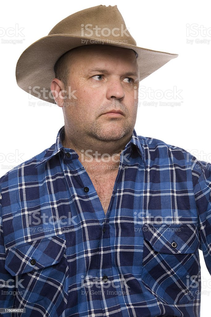 Country Man stock photo