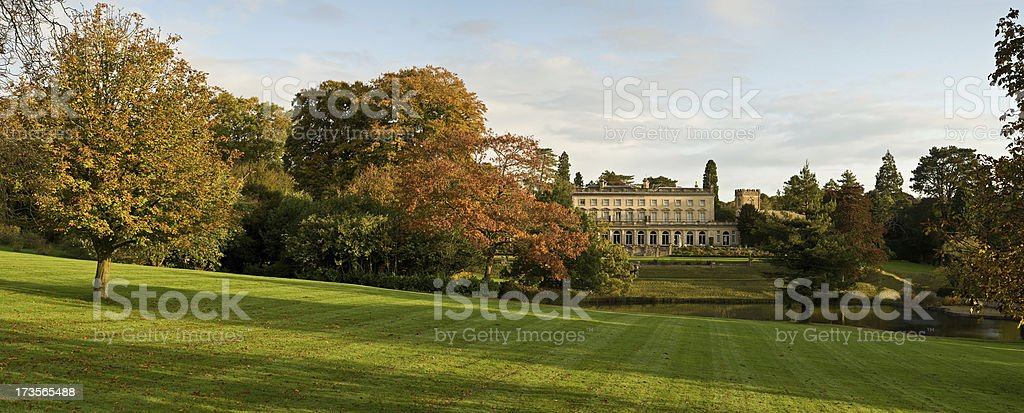 Country Manor House stock photo