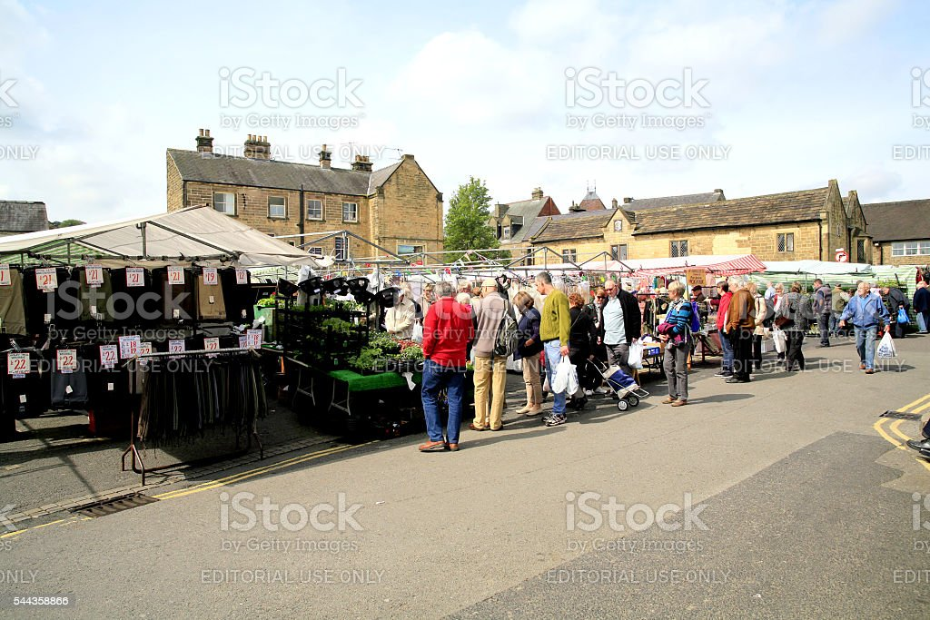 Country Market. stock photo