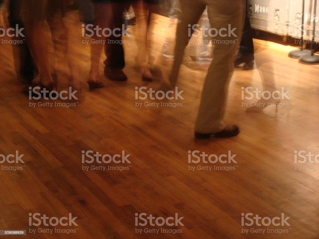 Country Music Dancing stock photo