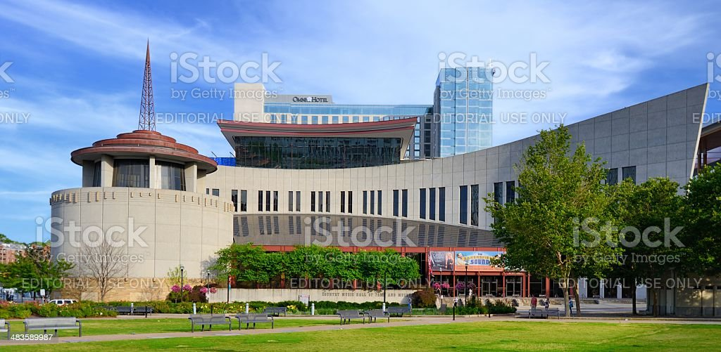 Country Music Hall of Fame royalty-free stock photo