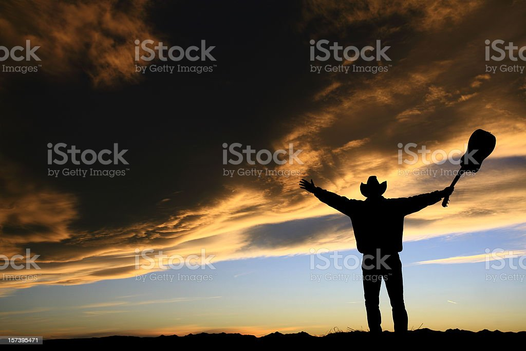 Country Music Man stock photo