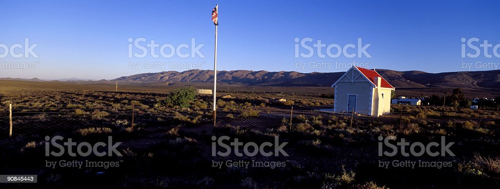 Country Outpost stock photo