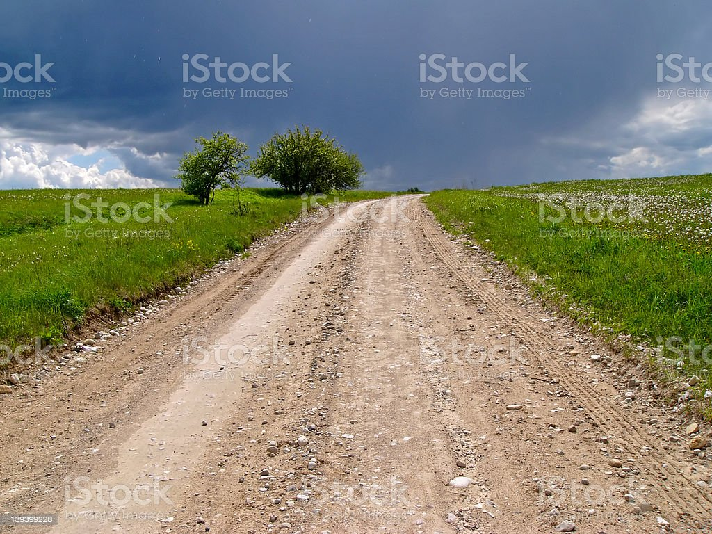 Country path royalty-free stock photo