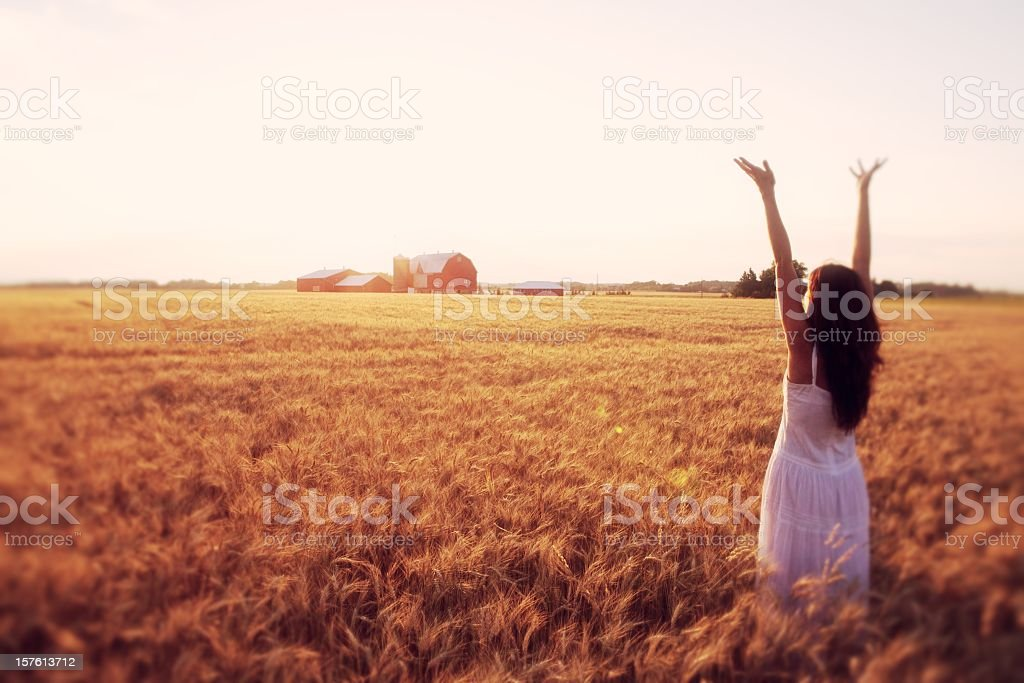 Country Praise royalty-free stock photo