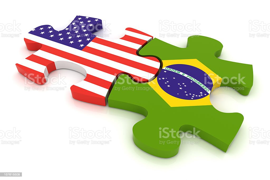 Country Puzzle Concept stock photo