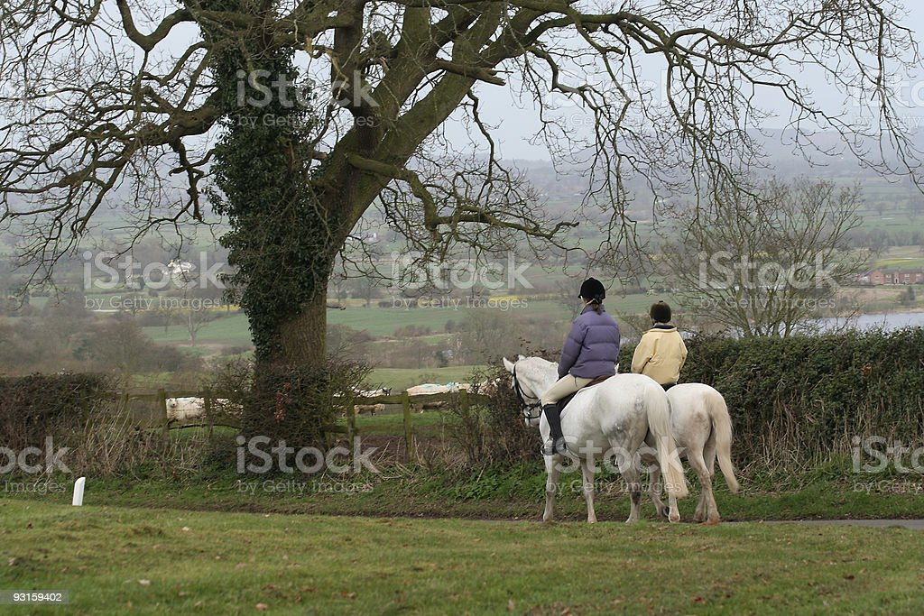 country ride royalty-free stock photo