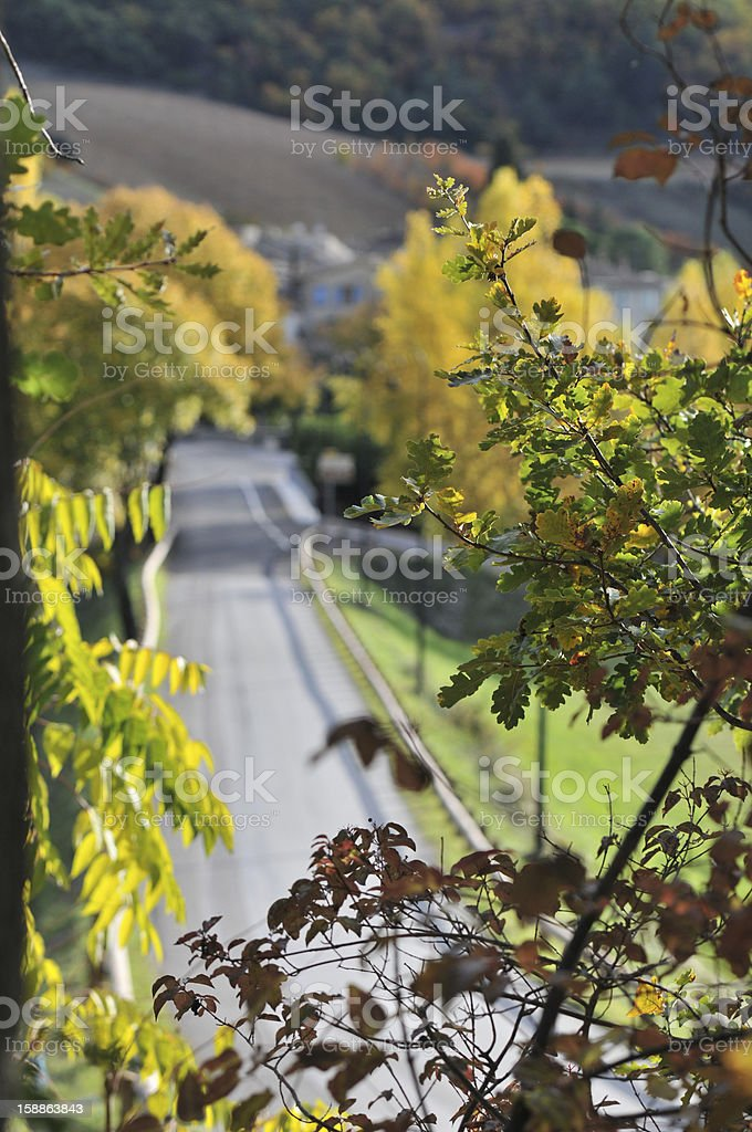 route de campagne royalty-free stock photo
