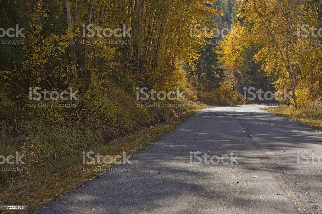 カントリー Road ロイヤリティフリーストックフォト