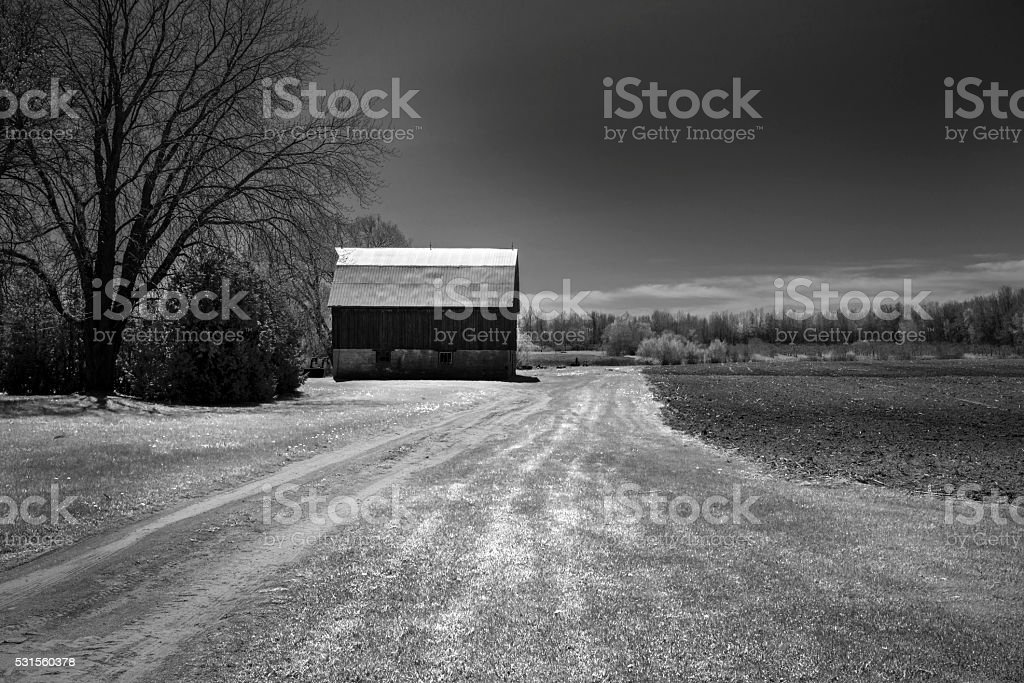 Country Road Take Me Home stock photo