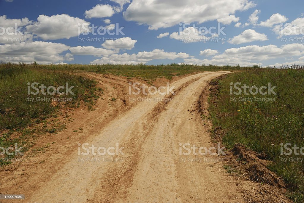 Country roads royalty-free stock photo