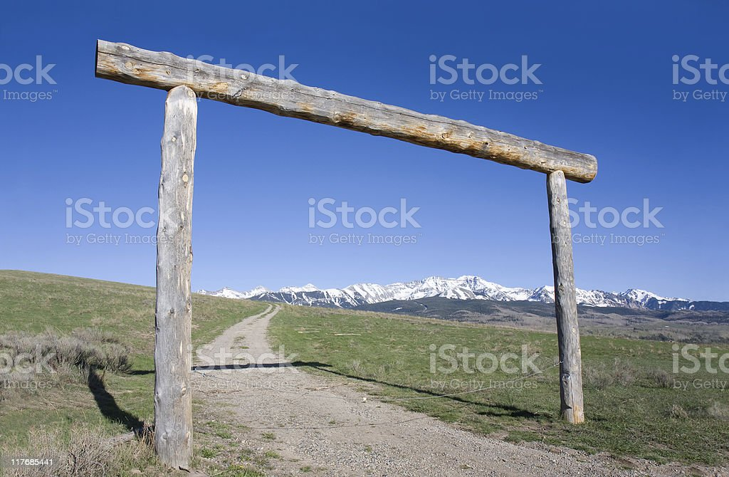 Country Scene royalty-free stock photo