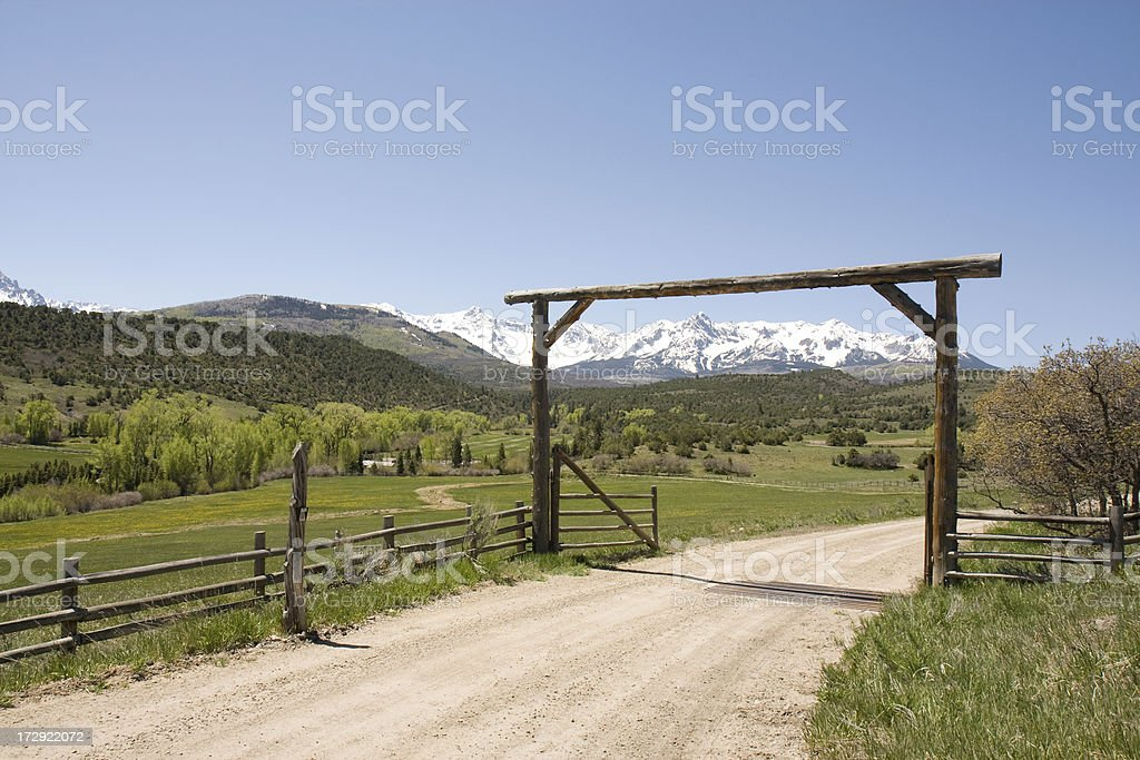 Country Scenics royalty-free stock photo