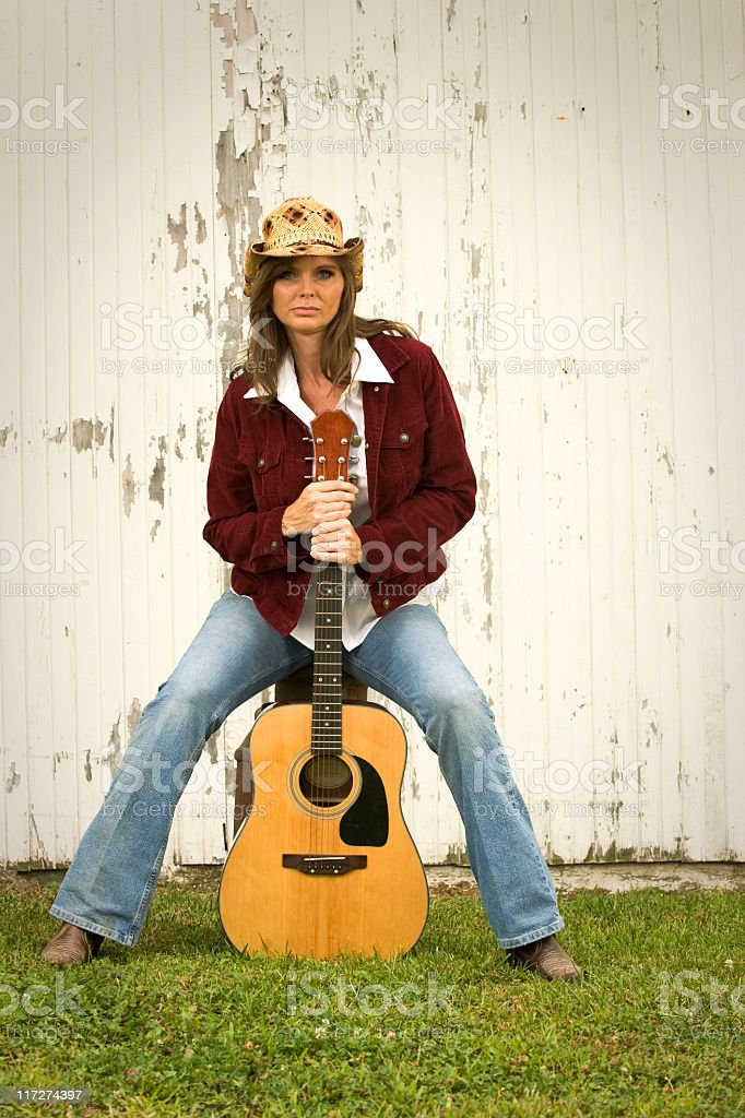 Country Singer stock photo