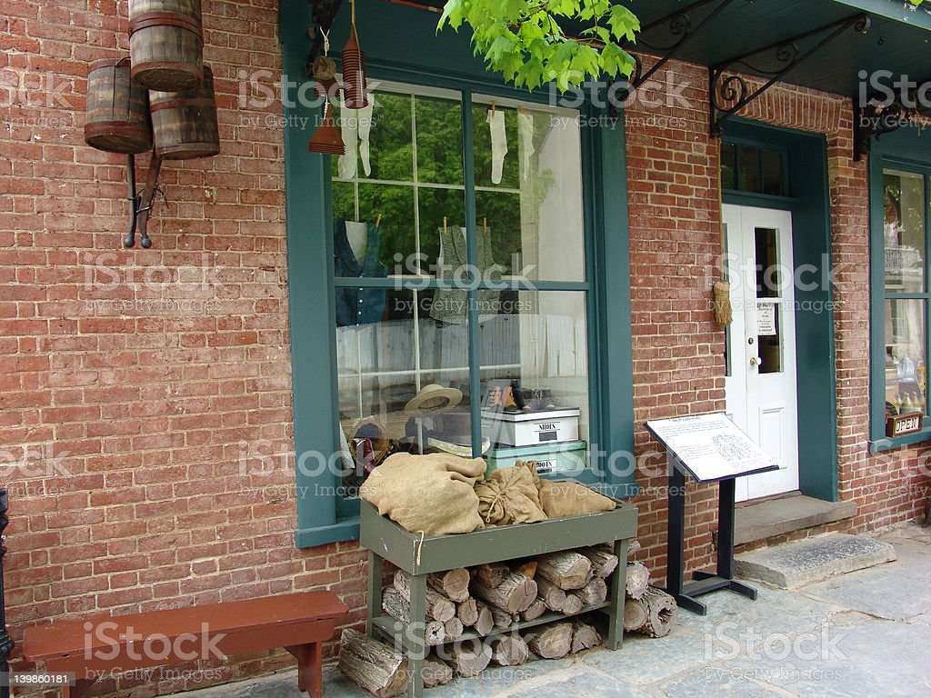 Country Store stock photo