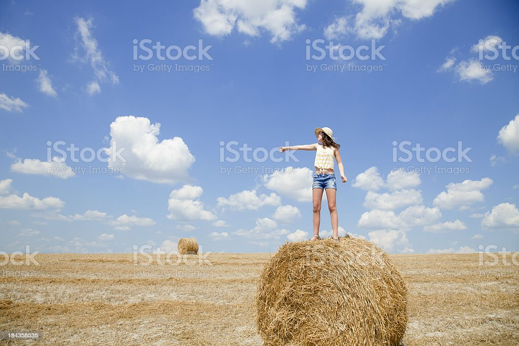 Country teen royalty-free stock photo