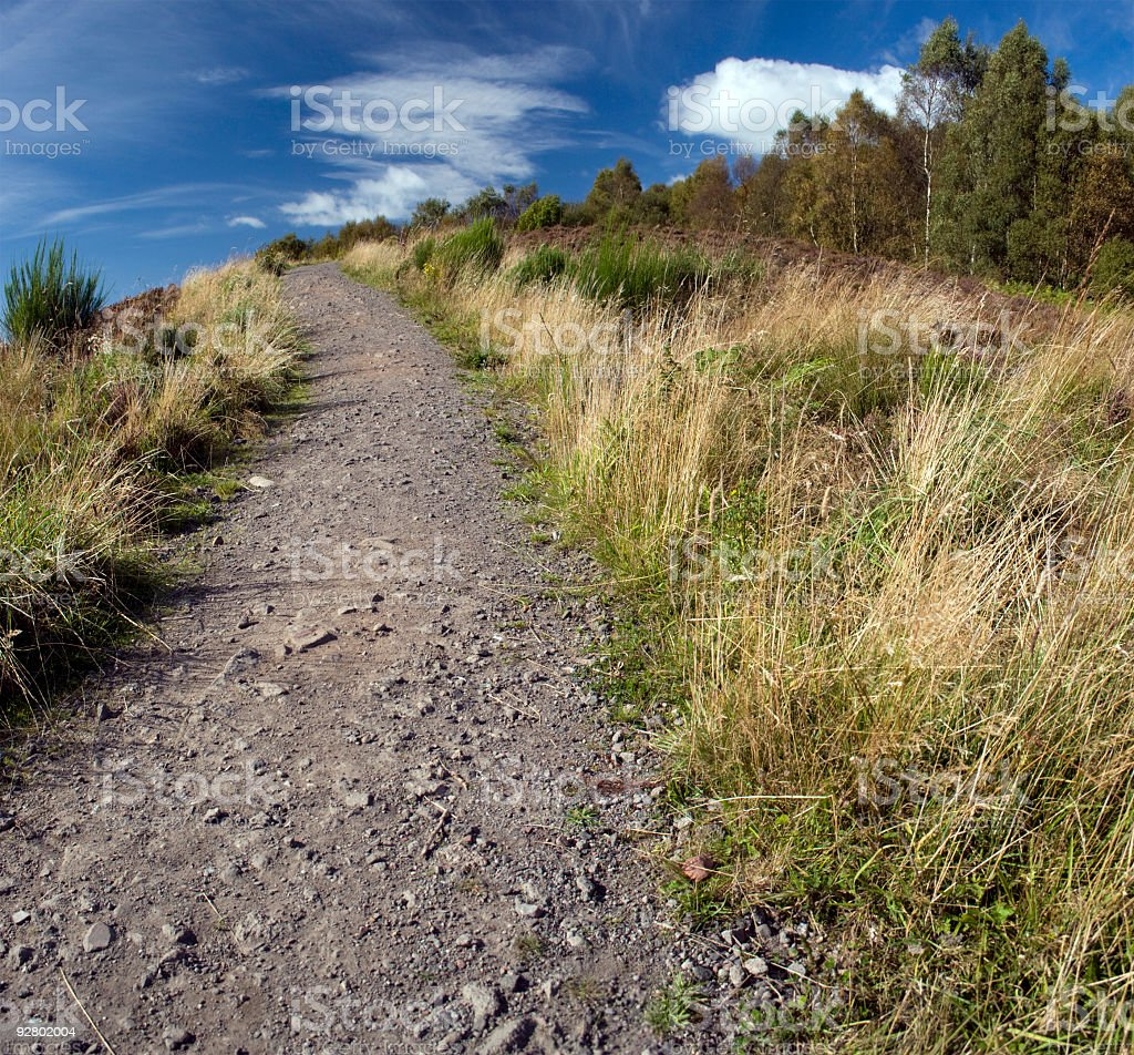 Country Trail royalty-free stock photo