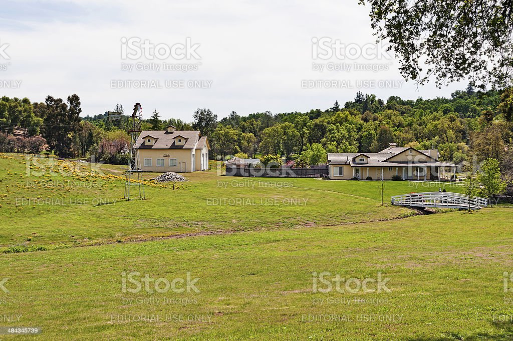 Country View stock photo