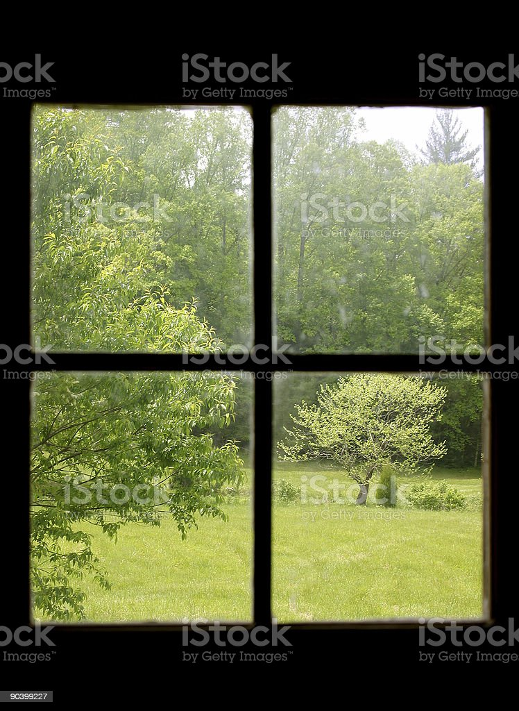 Country View royalty-free stock photo