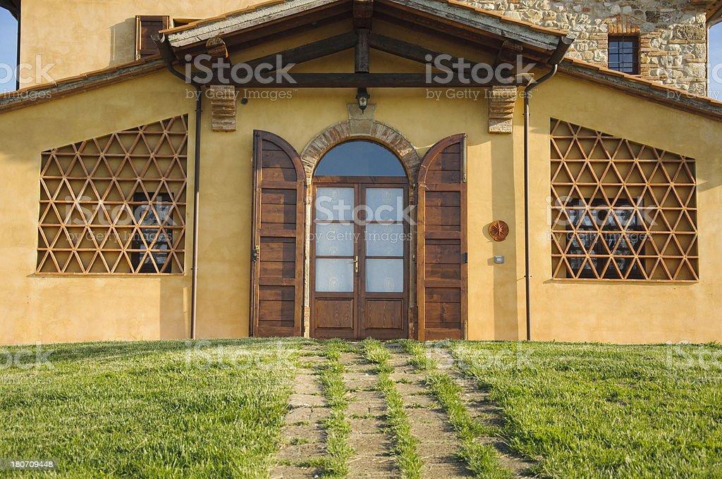 Country villa royalty-free stock photo