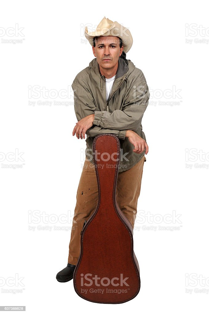 Country Western Performer stock photo