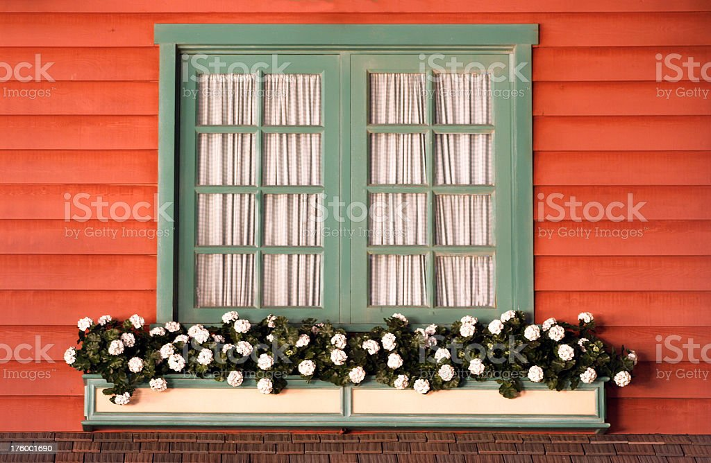 Country Window royalty-free stock photo