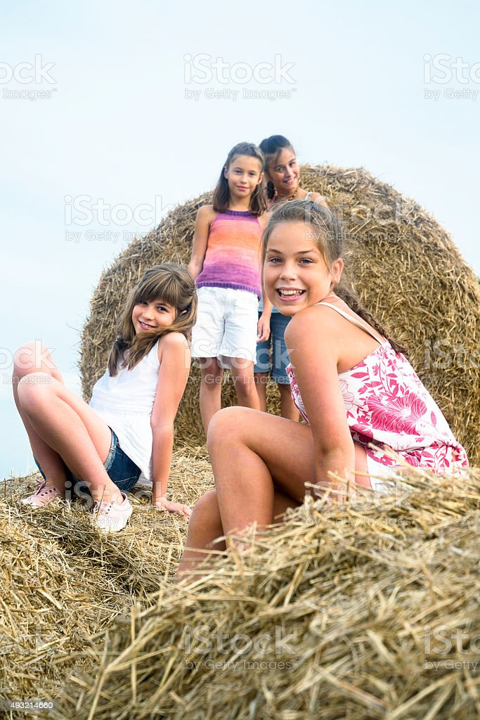 Countrygirls stock photo