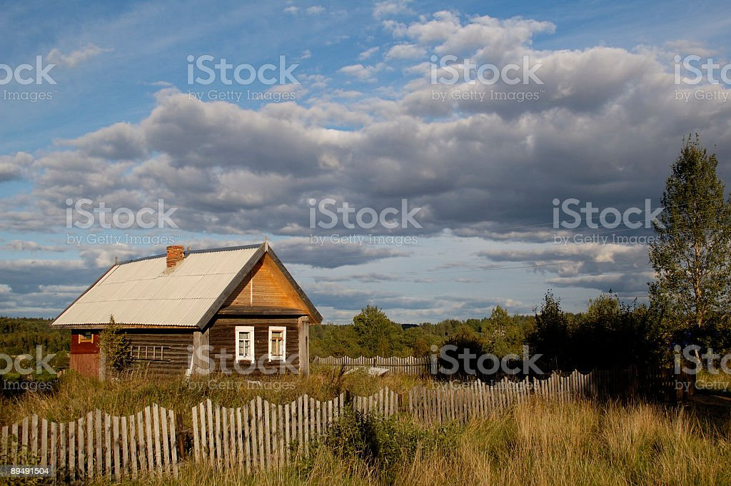 countryhouse  royalty-free stock photo