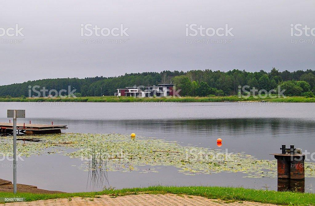 Countryside in Riga stock photo