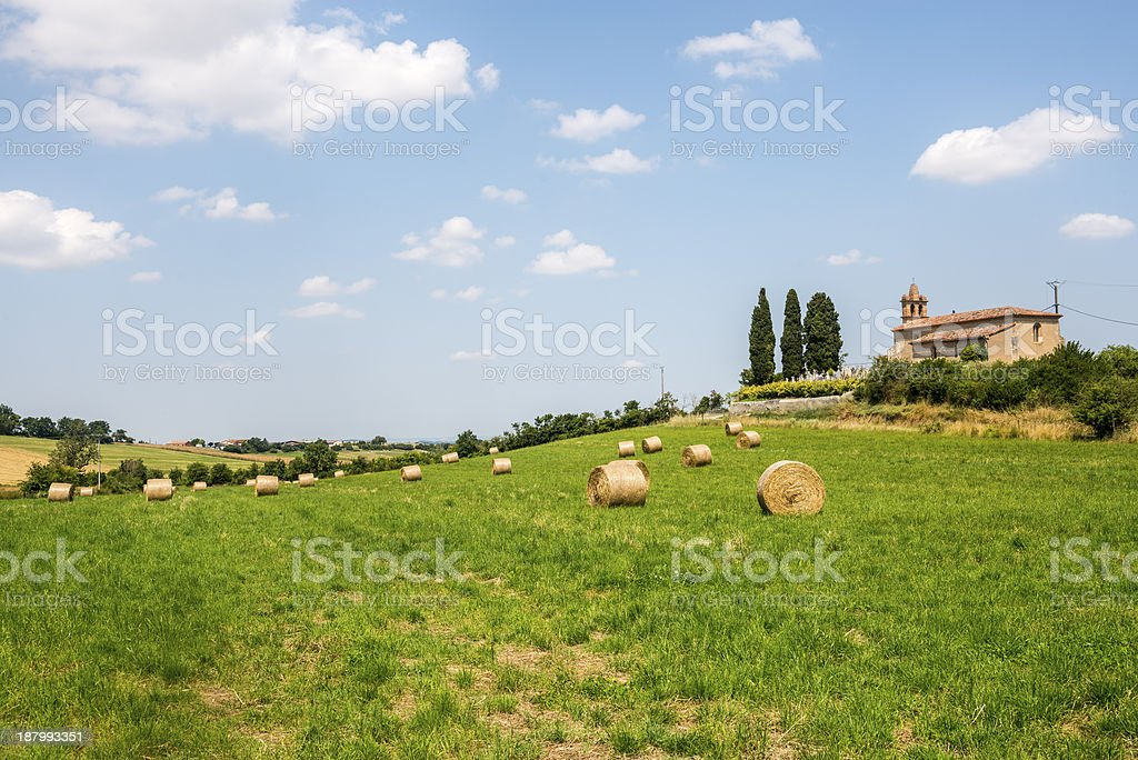 Countryside near Albi (France) royalty-free stock photo