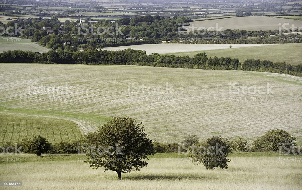 countryside stock photo