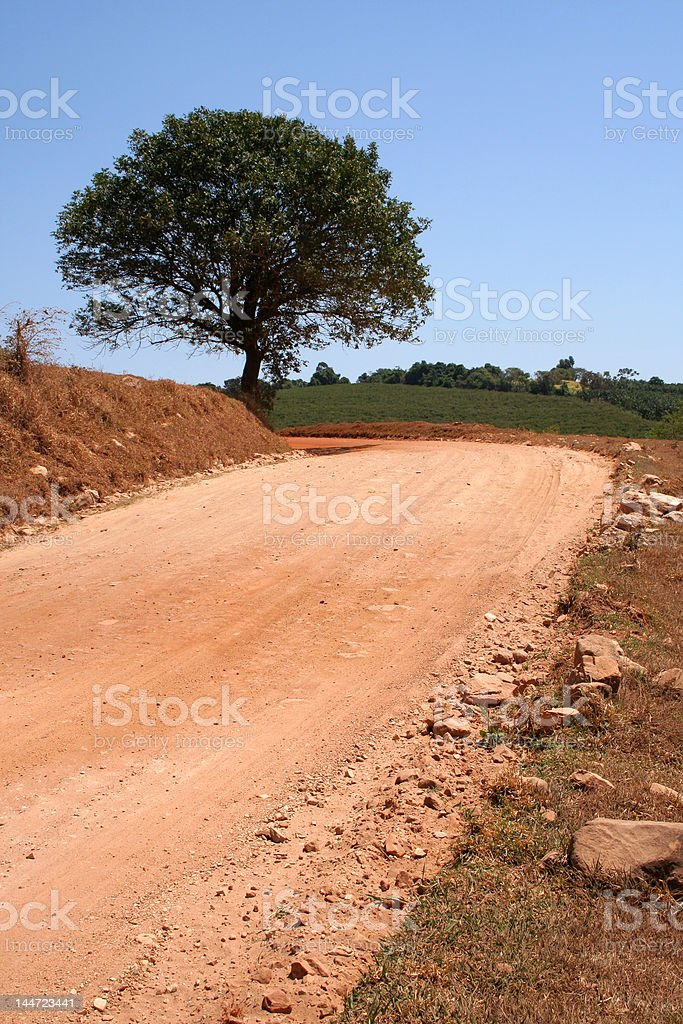 Countryside road royalty-free stock photo
