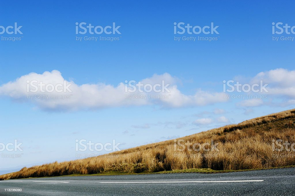countryside rural road royalty-free stock photo