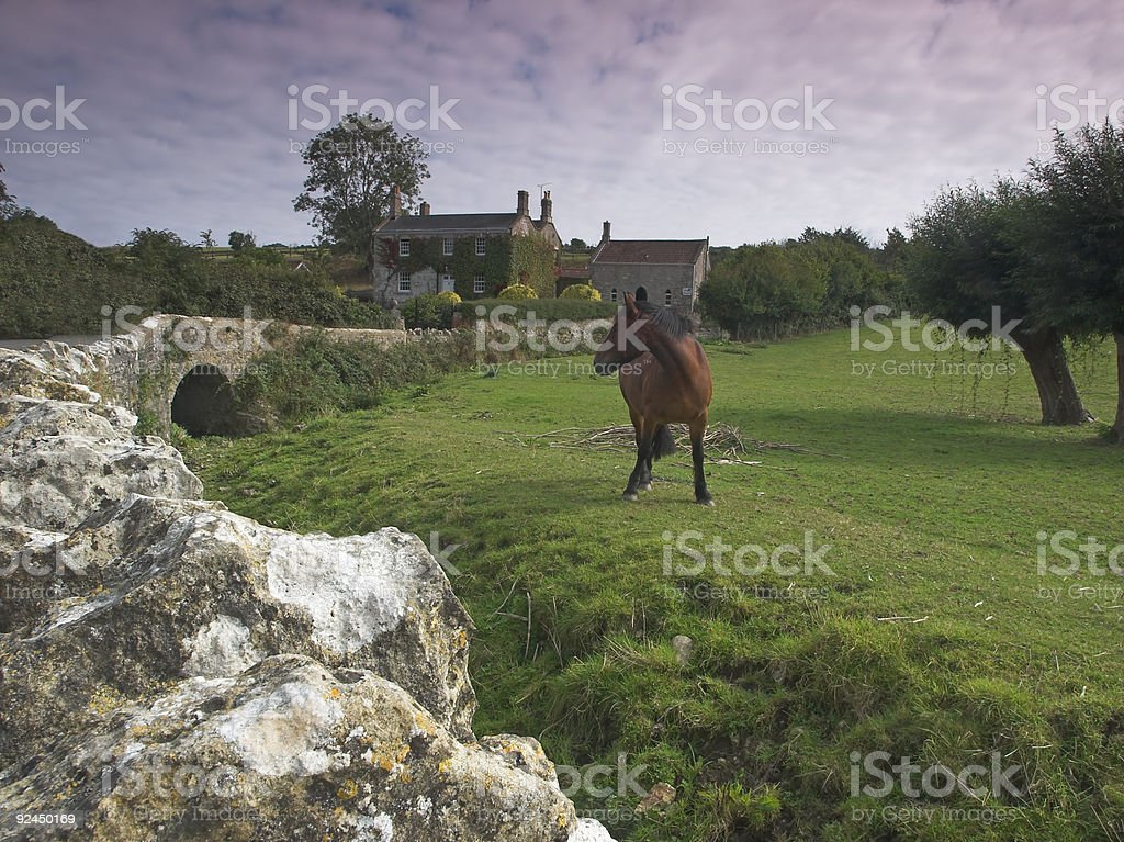 Countryside Scene royalty-free stock photo