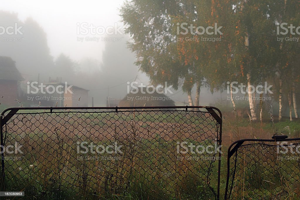 Countryside yard royalty-free stock photo