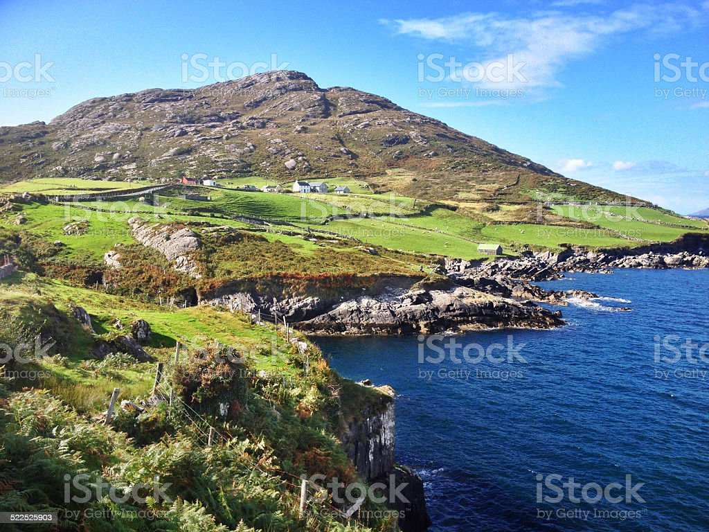 County Cork Coast stock photo