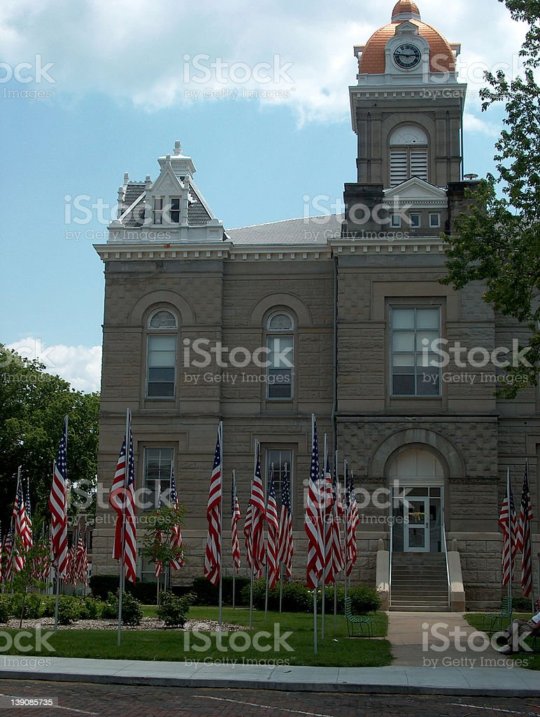 County Court House stock photo