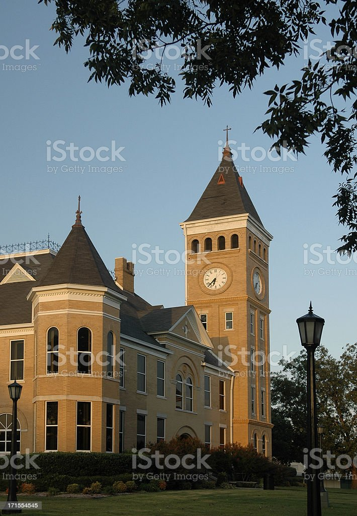 County Courthouse stock photo